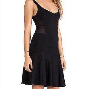 Torn by Ronny Kobo Black Mini Dress